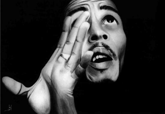 Bob Marley by sergepaul